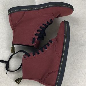 Dr. Martens Alfie 'air wair' canvas boots